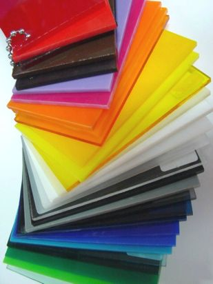 muestrario acrilico - Gama de colores